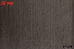 옥키 중국 제조업체 다크 컬러 우드 월페이퍼 장식용 필름