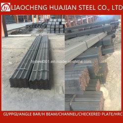 Proveedor chino estructurales laminados en caliente la igualdad o desigualdad en el ángulo de acero