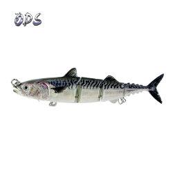 Tamaño grande 150 mm, 31g realista Multi-Jointed Bass Pike Swimbait Cebo de manivela de cebo de pesca Sábalo Minnow pesca de peces