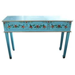 Старинная мебель окраска длинный ящик стола Lwd241