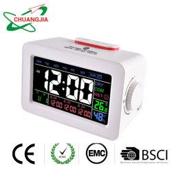 시간을%s 가진 침실을%s 도매 디지털 시계 또는 날짜 또는 온도 또는 은은한 불빛 또는 겉잠