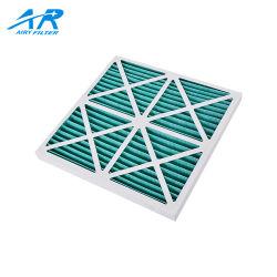 12X24X1 Merv 11 Estructura de cartón filtro primario de pliegue Foldway HAVC Pre Filtro de aire
