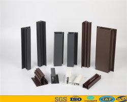 Порошок покрытие 6063 T5 алюминий / алюминиевый профиль профиль для дверей Windows для изготовителей оборудования в отрасли с хорошим качеством