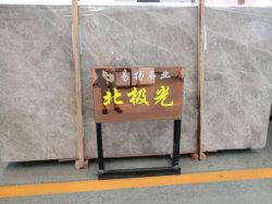 Pedra natural lajes de mármore branca/cinza para bancada/Vaidade/mesa/parede Piso/Hotel/Villa/Escola de Engenharia de Projeto