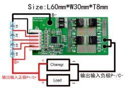 4s 20A 12,8V Batterie LiFePO4 Packs Conseils BMS Montage CI