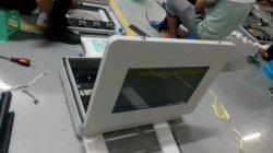 Aan de muur gemonteerde LCD-display voor buiten digitale bewegwijzering reclame waterbestendig hoog Helderheid 5000nits