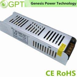 150W 12V 24V Schaltungs-Modus dünne Stromversorgungen-Fabrik Wechselstrom-Gleichstrom-LED, Ein-Outputgeregelte Innenstromversorgung mit Cer RoHS