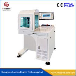 Commerce de gros de la gravure de marquage laser à fibre métallique de la machine pour l'écran 50W