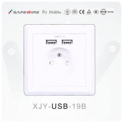 Anschluss-/Fußboden-Kontaktbuchse-Baugruppee des 86*86mm Kontaktbuchse-Anschluss-Kasten-/USB