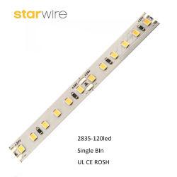 60 صمام LED عالي الجودة/M مرن SMD2835 شريط LED مع مقسم طريقة عرض مقاومة للماء الغراء/الأنبوب