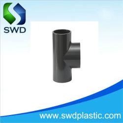UPVC/CPVC différentes normes Tee pour combiner ou diviser le débit de liquide