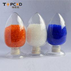 Beliebte Blau Farbe ändernde Rohstoffe 1-3/2-4/3-5mm Silicagel Trockenmittel