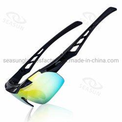 Высокое качество при послепродажном обслуживании с возможностью горячей замены на велосипеде солнечные очки поляризованной вилкой для спортивных мероприятий на улице солнечные очки