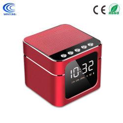 Q5 Réveil Petit caisson de basses lourd Accueil Audio Mini ordinateur portable de carte de téléphone sans fil haut-parleur Bluetooth