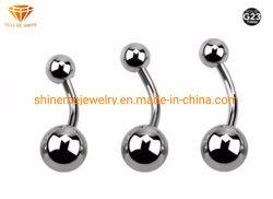 Het Doordringende Titanium die van uitstekende kwaliteit van het Lichaam de Duidelijke Juwelen Tp1911 doordringen van het Titanium van de Ring van de Buik