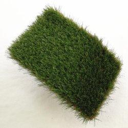 Vert Gazon synthétique pour le jardin avec une haute qualité décorative