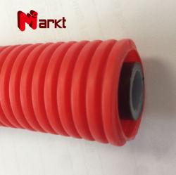 Пластиковый красный гофрированную трубу гибкая трубка для Pex трубопровод защиты