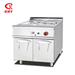 Restaurante-984 Grt-Gh combinación de acero inoxidable equipos de cocina de gas horno