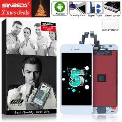 Sinbeda 100% neuf pour l'iPhone 5S 5se écran tactile LCD Affichage de l'Assemblée pour iPhone 5 n'afficher aucun pixel mort pour l'iPhone5 Afficher l'algorithme AAA