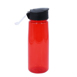 Tritan 700/800ml de boca larga plástico BPA-Free Sports garrafa de água