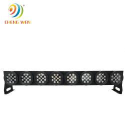 Индикатор горячей здание промойте лампа 24*10W RGBW DMX на стену водонепроницаемый