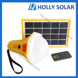 L'énergie solaire portable rechargeable Lampe LED lumière ampoule 3500mAh Batterie LiFePO4
