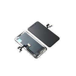iPhone 11、プロ11プロ最大修理置換のためのフレームが付いている完全なOLED LCDスクリーンの計数化装置の表示アセンブリ