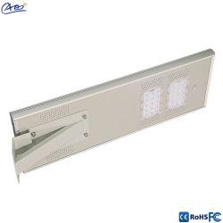 Calle la luz solar LED con soporte montaje exterior IP65 30W de luz de carretera de LED con sensor de luz