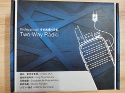 Baofeng E50 Walkie-talkie van uitstekende kwaliteit 16 van de UHF-radio 400-470MHz de Zendontvanger van de FM van Kanalen