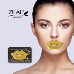 Eifer-erleichtern Kristalllippengel-Schablone Lippenzeile Anti-Knicke Hydrogel-Lippenschablone