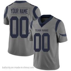 Оптовая торговля Custom дешевой цене с вышитым футбола футболках nikeid спортивная одежда
