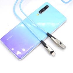 2019 новых световой индикатор мигает лампа USB-кабель типа аксессуары для телефонов C кабель для зарядки кабель передачи данных для синхронизации
