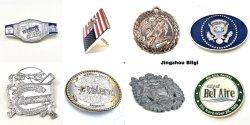 De aangepaste Antieke Preferentiële Prijs Van uitstekende kwaliteit van het Embleem van de Auto van het Kenteken van de Vlag van het Medaillon van het Koper van de Medaille van het Messing Antieke