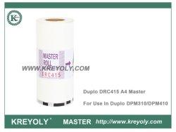 Compatível RDC415 A4 para o digital master duplo stencils DPM310 DPM410