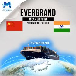 De overzeese Verschepende Dienst van China aan Chennai/Kolkata/Mundra/Mumbai/Ahmedabad/Nhava Sheva/Tuticorin/New Delhi/Pipavav/Mangalore/Kandla/Surat/Hazira/India