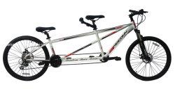 26inchアルミニウムフレーム24の速度は販売のための2人のタンデム自転車を専門にした