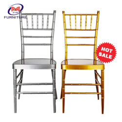 Accatastamento Aluminium Metal Resin Hotel Restaurant Dining Wedding Chiavari Chair (Xym-Zj02)