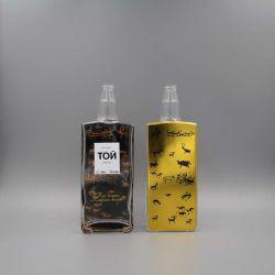 Heißer Verkaufs-Wodka-Glasflasche, Whisky-Flaschen-Verpackung