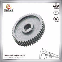 Reductor de velocidad personalizado C45 el engranaje de marcha con el mecanizado de acero