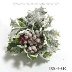 Venta caliente de pino de navidad artificial con maceta de Bonsai Berry para Navidad y la decoración del hogar