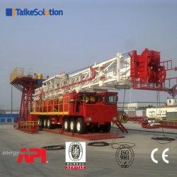 Alta macchina tecnica di memoria della roccia che costruisce perforazione dello sbarco del pozzo d'acqua/impianto di perforazione rotativi idraulici di workover per il servizio del giacimento di petrolio