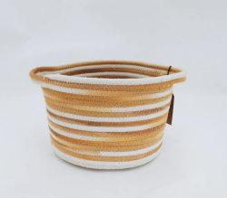 Corde de coton tissé des articles divers et les vêtements Panier à linge