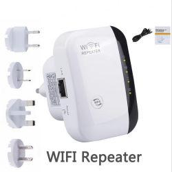 Réseau WiFi répéteur amplificateur de signal sans fil petit pain 300m de l'extension de routage de répéteur WiFi