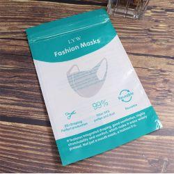 Selbstdichtender Plastiktasche-kundenspezifischer Schablonen-staubdichter Beutel-zusammengesetzter Beutel, der pp.-Beutel-transparente Reißverschluss-Konservierung-Plastiktasche verpackt