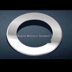 Lame ronde lame de couteau de coupe en carbure de tungstène pour la Coupe de l'industrie de la batterie au lithium