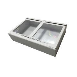 Cosmetisch witte kartonnen doos met PVC-venster