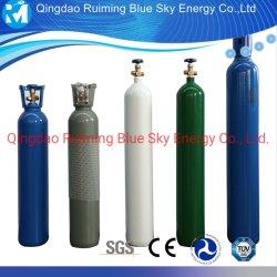 Cylindre d'oxygène/vérin à gaz avec l'azote et d'oxygène /l'hydrogène/ Argon /l'Hélium /CO2 / éthylène / réservoir de stockage de gaz d'hydrogène