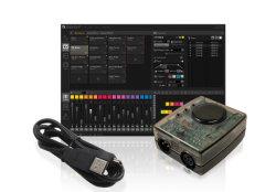 DV5V USB DMX Controller 100 Seneses unterstützt Windows/Mac Dashlight Console Sunlite-Software