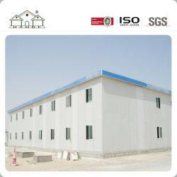 Licht stalen frame Hoge kwaliteit warmte en geluid isolatie speciaal Voor het Midden-Oosten Prefab House Labour Camp
