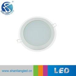 Раунда 10Вт светодиод для поверхностного монтажа стеклянной панели затенения